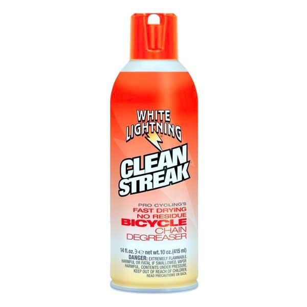 White Lightning Clean Streak Sgrassante asciutto per catena