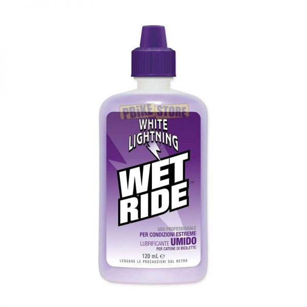 White Lightning Lubrificante Sintetico Umido WET RIDE 120ml